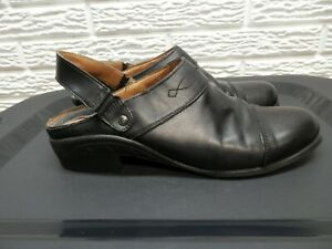 Ariat Black Leather Clog Mule Shoes Size 11