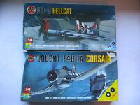Airfix 1:48 Fleet Air Arm Hellcat and Corsair