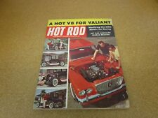HOT ROD magazine October 1960 drag racing Valiant V8 Jet Car Go Karts
