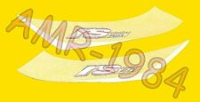 SERIE ADESIVI DECALCO CODONE APRILIA RS 50 2000 GRIGIO NIK  AP8267106
