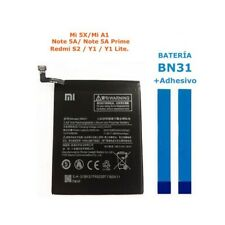 Bateria BN31 para Xiaomi Note 5A Prime MiA1 Mi A1 5X Mi5X Redmi S2 Y1 Lite