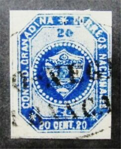 nystamps Colombia Stamp # 6 Used $73 F26y350