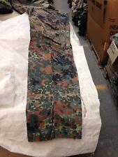 """German Army Flecktarn trouser, used, GR15, size waist 38""""length 32.5"""""""