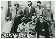 Talking Heads - Poster - David Byrne Chris Frantz Tina Weymouth Adrian Belew
