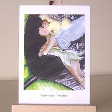 ACEO Pixie Firefly Hada Tinker Bell WDCC Super heroico tarjeta de arte dibujo