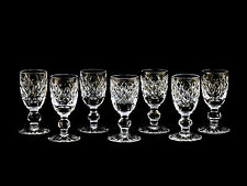 Waterford Crystal Boyne Cordial Liqueur Glasses