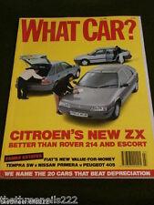 WHAT CAR? - NEW CITROEN ZX - JULY 1991
