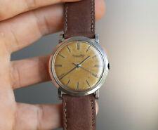 Vintage IWC Schaffhausen Cal 401 Steel Watch 36mm 1960 International Watch Co.