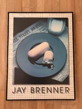 1983 Jay Brenner,Wall Street Journal Hostess Twinkie & Milk Art Print Framed