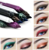 2X Eye Liner Waterproof Longlasting Pencil Pigment White Color Eyeliner Makeup U
