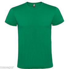 Camiseta manga corta de hombre Atomic. 100% algodón. Tallas de la S a la XXXL
