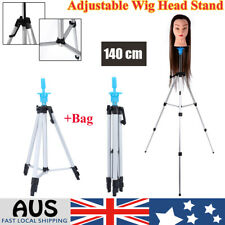 Hairdressing Training Mannequin Manikin Head Doll Tripod Stand + Bag wd