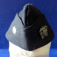 NAVAL COMMANDERS OVERSEAS CAP W/STERLING INSIGNIA