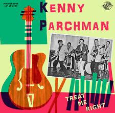 10 INCH / 25 CM - Kenny Parchman - Treat Me Right - Rockabilly  LP NEW SEALED !