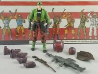 Original 2003 GI JOE TUNNEL RAT V4 complete UNBROKEN figure ARAH Cobra Two Pack