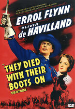They Died With Their Boots On - Errol Flyn Olivia de Havilland (NEW) Classic DVD