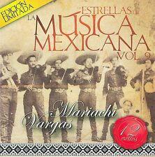 NEW - Estrellas De La Musica Mexicana by Mariachi Vargas De Tecalitlan