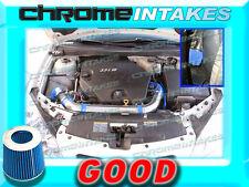 BLUE 06 07 08 09 CHEVY MALIBU/PONTAIC G6 3.9 3.9L V6 COLD AIR INTAKE KIT