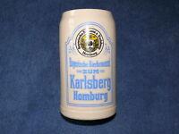 Bierkrug Karlsberg Bierkrug Krug Steingut
