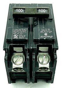 Murray MP2100P 2 Pole 100 Amp 120/240VAC Plug In Main Breaker Type MP-T FLAWED