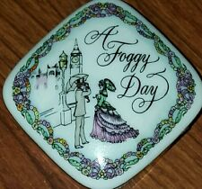 Franklin Mint Songs of Love Music Box A Foggy Day Most Romantic Love Songs