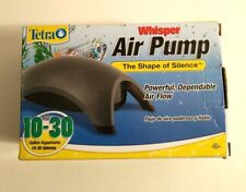 Tetra Whisper Air Pump for 10 to 30 Gallon Aquariums OPEN BOX