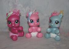 MLP Newborn Cuties Set - Pinkie Pie, Rainbow Dash, Cheerilee - Baby Ponies