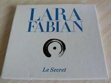 COFFRET CARTON 2 CD ALBUM LE SECRET LARA FABIAN 17 TITRES 2013