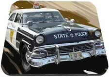 old ford state police car mouse pad usa made