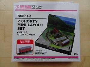 ROKUHAN Z-Shorty 1/220 Mini-Landschaft mit Lok/Triebwagen Neu