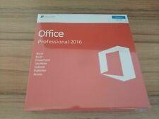 Microsoft Office 2016 Professional Windows English {PC Key Card&DVD}