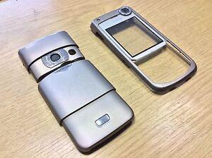 Genuine Original Nokia 6680 Grey Front Rear Battery Cover Fascia Housing