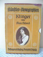 Künstler Monographien Max Klinger Liebhaber-Ausgaben Leipzig 1913, Nr.41