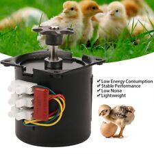 220V AC Egg Turner Motor Incubator Engine Reversible Automatic Hatching Machine