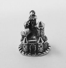 Sterling Silver CASTLE Charm - 1509