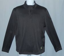 Mens Kathmandu 1/4  Zip Pullover Sweater Size M Altica 100 Dark Gray Medium