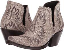 Ariat 245850 Womens Dixon Leather Western Boots Blanco Size 9 B Medium