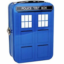 Doctor Who - Tardis Shaped Tin Tote Kids Lunch Box