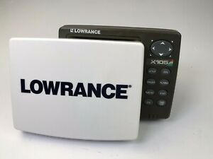 Lowrance X105C X-105c FISH FINDER Sonar ((head & sun cover ,No other Accessories