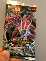 YUGIOH BOOSTER • Absolute Powerforce 1st Edition Potere Assoluto 1ST ED NEW ENG