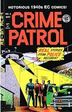 Notorious 1940s EC Comics - Crime Patrol, #2, 3; War Against Crime, #2 - NM Cond