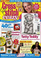 June Cross Stitch Crazy Craft Magazines