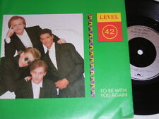 "7"" - Level 42 To be with you again & Micro Kid - UK 1987 # 4901"