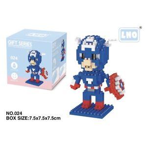 Marvel Universe Captain America 210pcs Nano Blocks