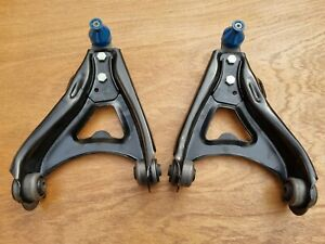 RENAULT CLIO 172 182 NEW FRONT LOWER CONTROL WISHBONES PAIR + BALL JOINTS