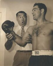 JACK DEMPSEY & ROCKY MARCIANO 8X10 PHOTO BOXING PICTURE