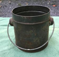 Vintage Small Tin Bucket/Berry Pail