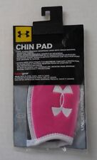 Under Armour Chin Pads Unisex One Size Tropic Pink/White/Black New