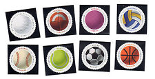 5203-10 HAVE A BALL (Singles NICELY MOUNTED, CLEAR PERFs & VERY FINE)  MNH