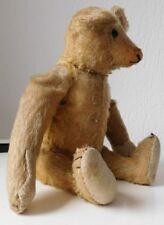 STEIFF Teddy Bär orig.1925 Familien Nachlass schwarze Knopfaugen 34cm Holzwolle